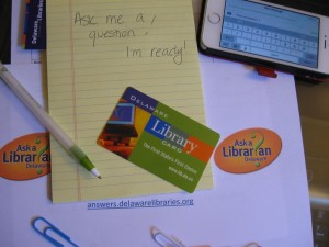 Ask a Librarian Delaware - We're here to help!